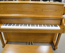 Yamaha P22 oak studio piano